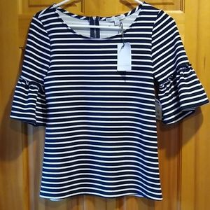 Nautical stripped shirt